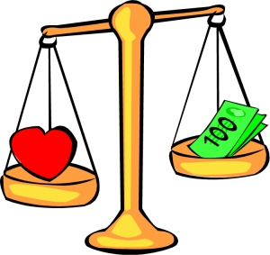 love-vs-money